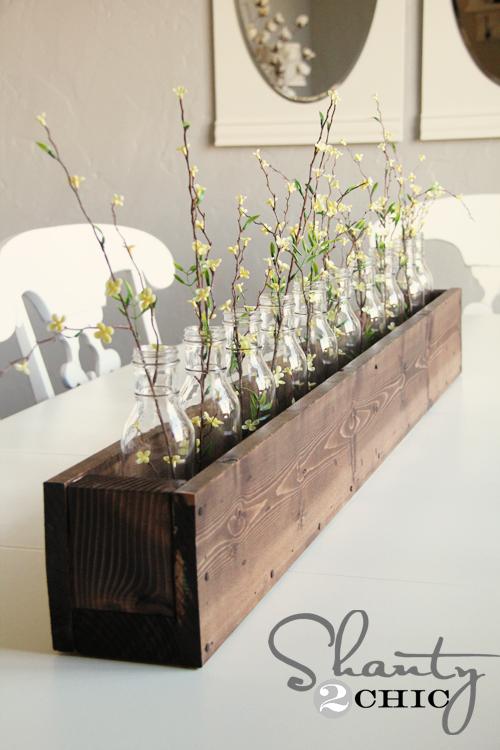 DIY Planter Box Centerpiece Shanty 2 Chic
