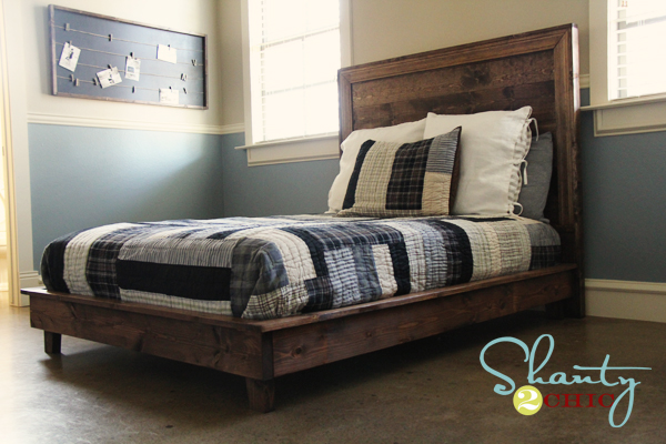 Pb Teen Inspired Platform Bed Shanty 2 Chic