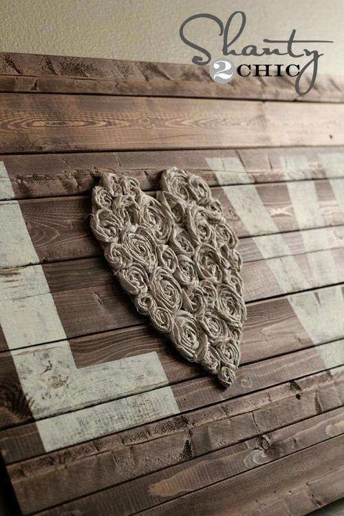 wood wall sign
