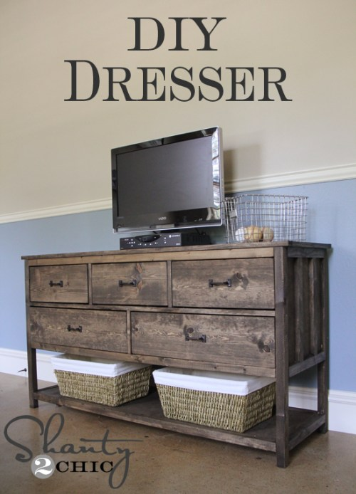 DIY Pottery Barn Dresser