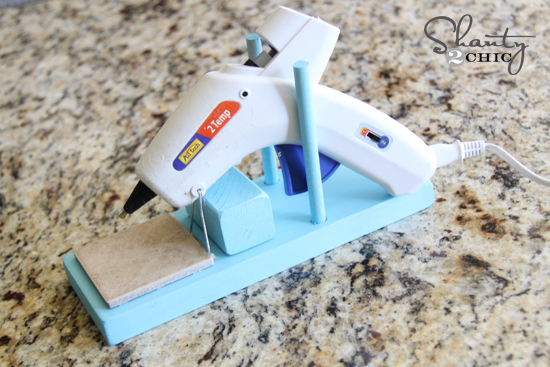 hot glue gun holder