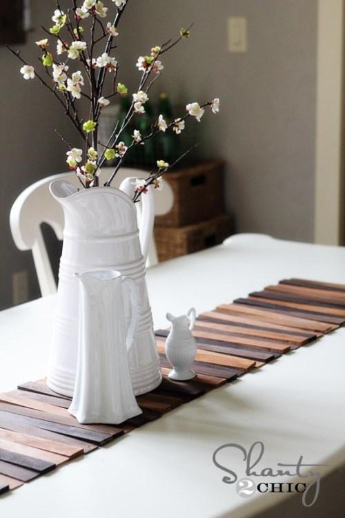 DIY Wood Table Runner