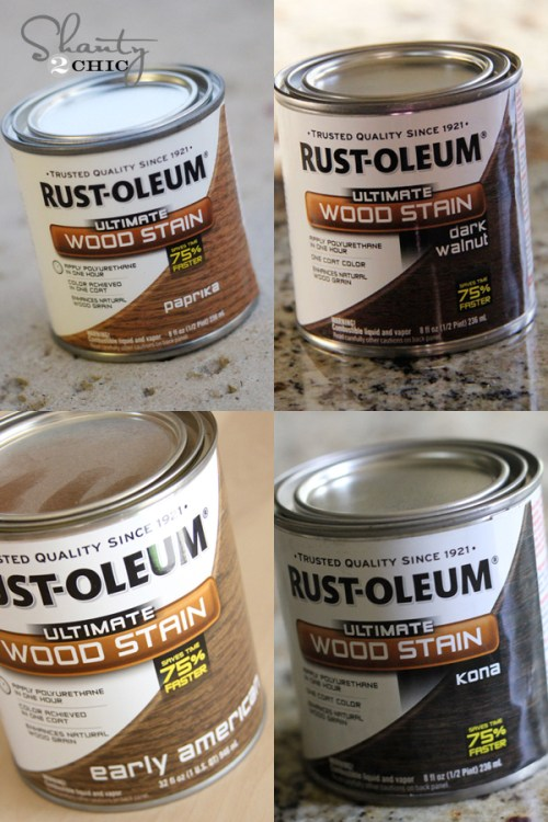 RustOleum Wood Stains