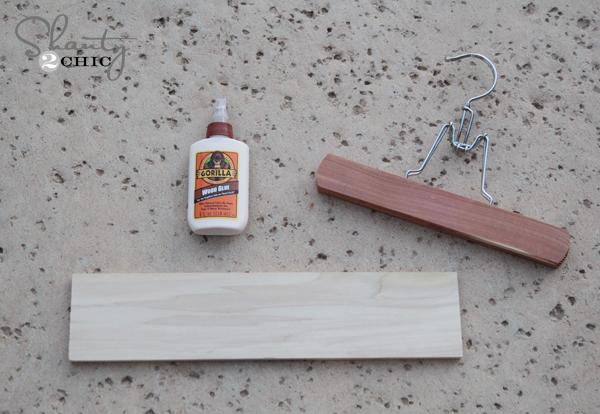 Belt Hanger DIY Step 1