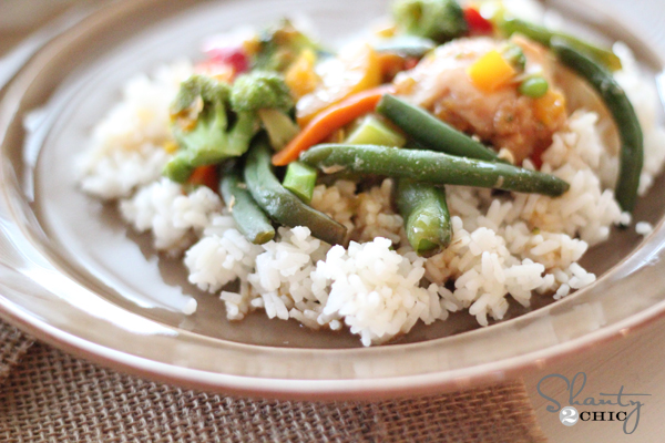 Chicken Oven Baked Stir Fry