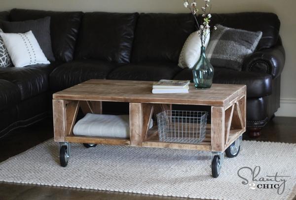 Coffee Table DIY - Shanty 2 Chic on Coffee Table Plans  id=63704