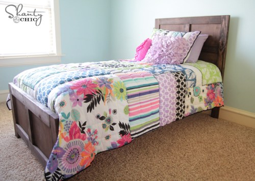 DIY Pottery Barn Bed