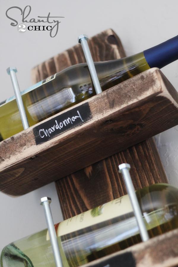 Wine Rack - DIY - Shanty 2 Chic