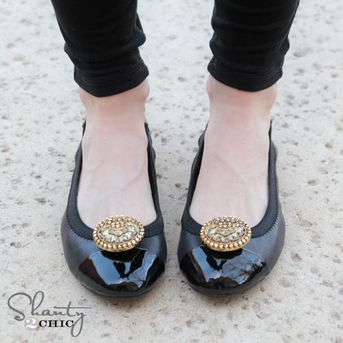DIY Shoe Clips 5
