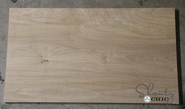 1x12 white wood board