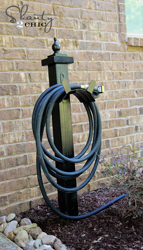 Hose Holder For The Garden Diy Shanty, Garden Hose Hanger Stand
