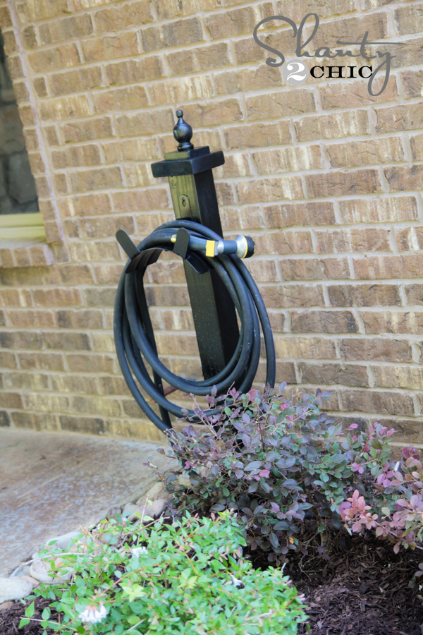 Hose Holder for the Garden