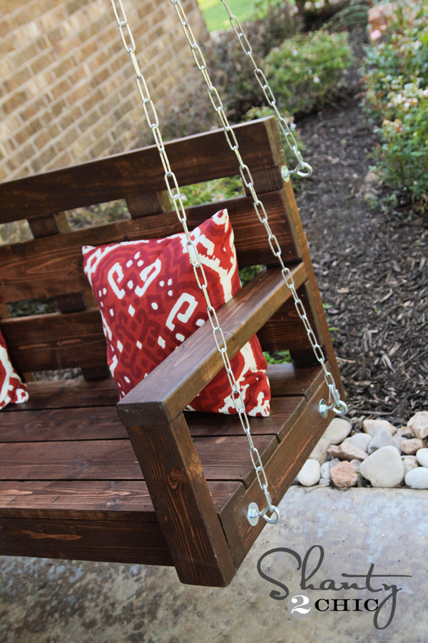 How to hang a porch swing