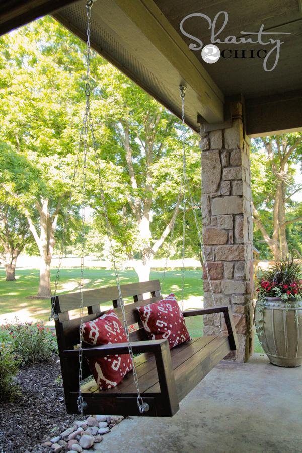 Porch Swing DIY