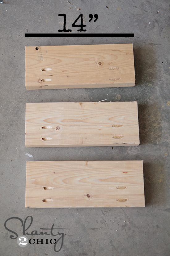 Wood Wall Planter Shelves