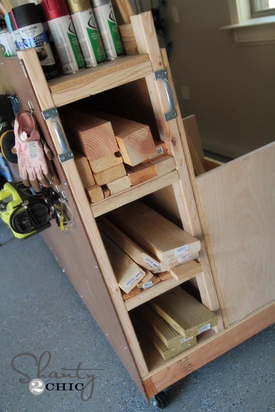 Storage Cart for the Garage