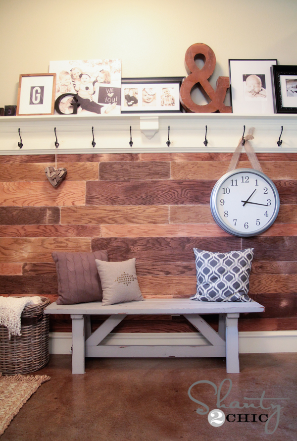 Plank Wall DIY