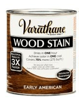Varathane Stain in Early American