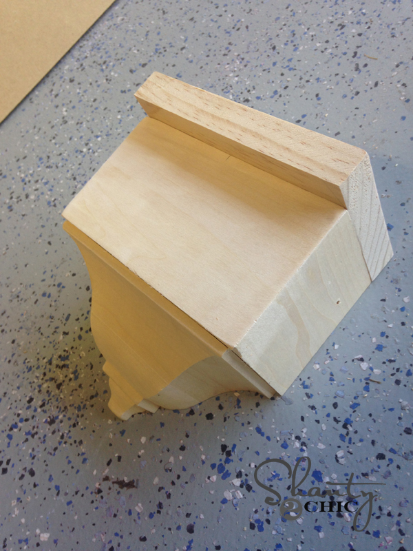 Build a wall shelf 2
