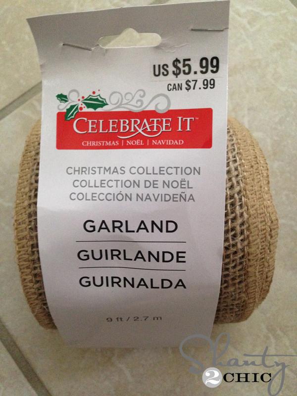 Burlap-Garland