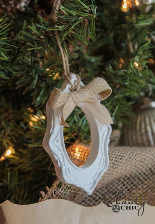 Frame Ornament DIY