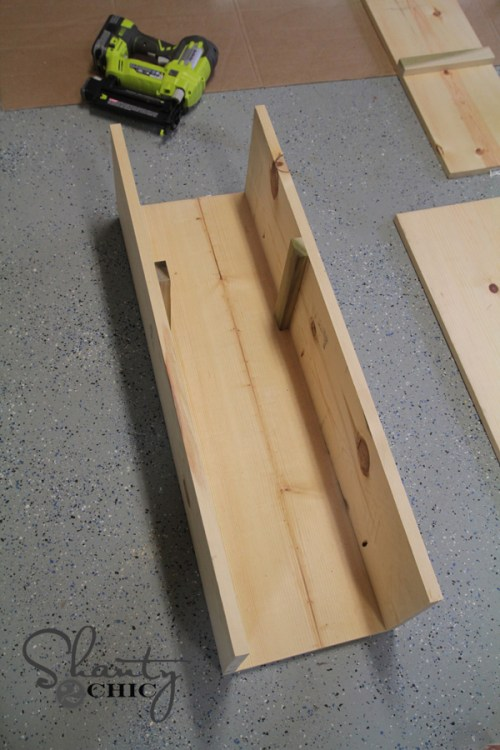 Wood Plant Stand 6