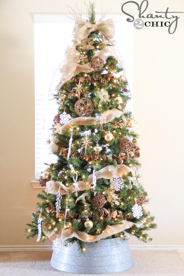 Christmas Tree Reveal Shanty 2 Chic