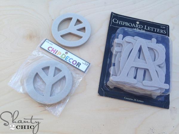 chipboard-letters