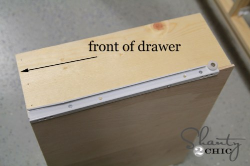Building a drawer