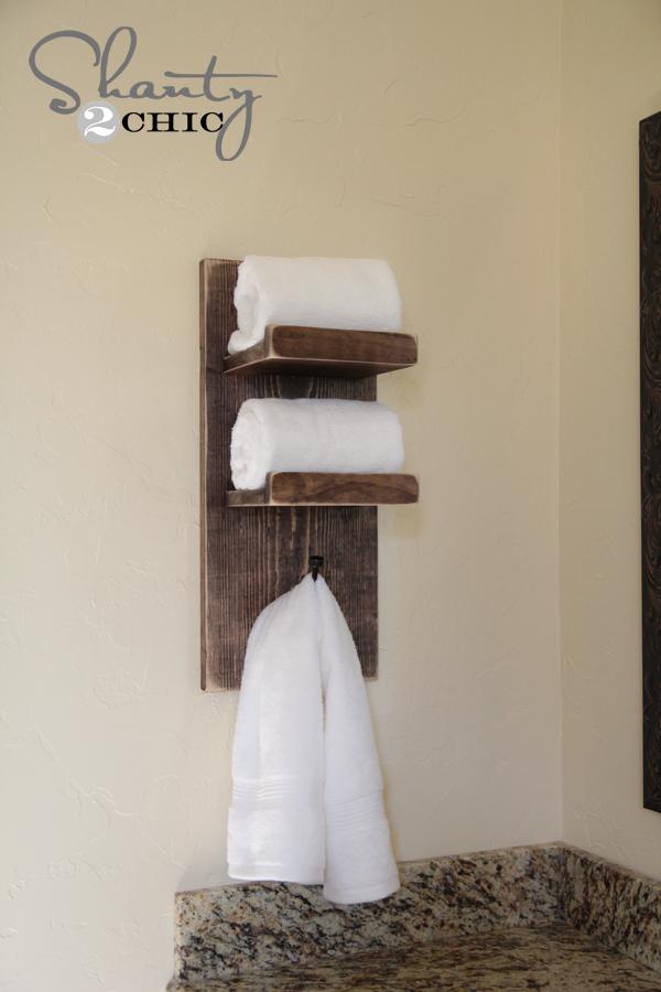 Creative Bathroom Towel Hooks