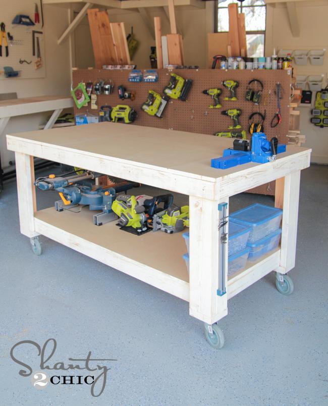 plans diy workbench