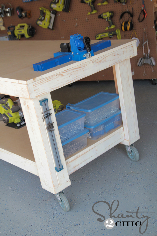 New Year    New Workbench Baby! - Shanty 2 Chic