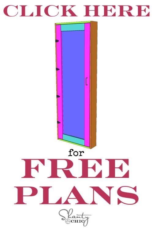DIY Bathroom Storage Cabinet Free Plans