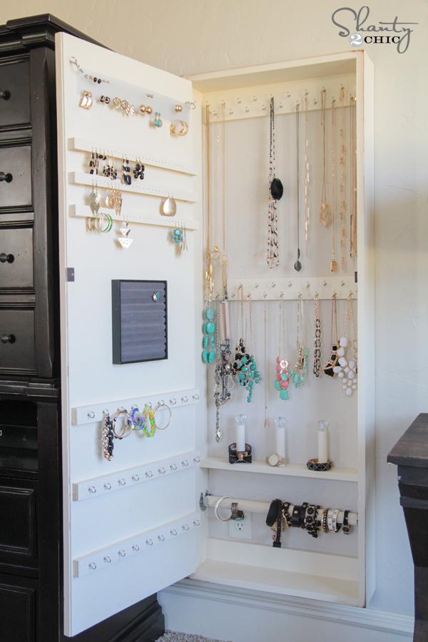 Diy Jewelry Organizer Shanty 2 Chic