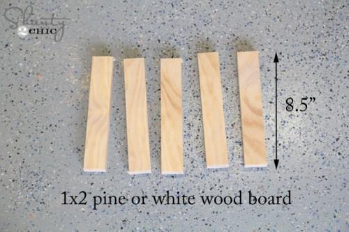 Wood for wine rack