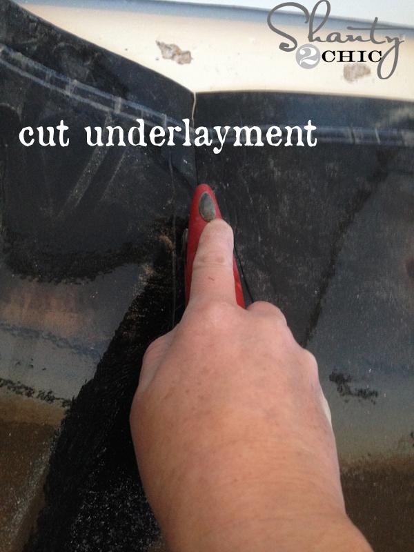 cut-underlayment