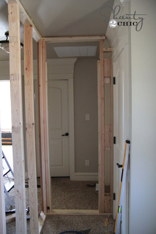 build a door frame