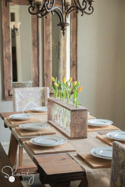 Dining Table Centerpiece DIY