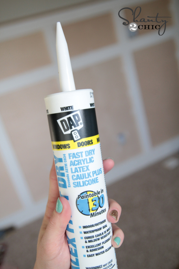 How To Caulk    - Shanty 2 Chic