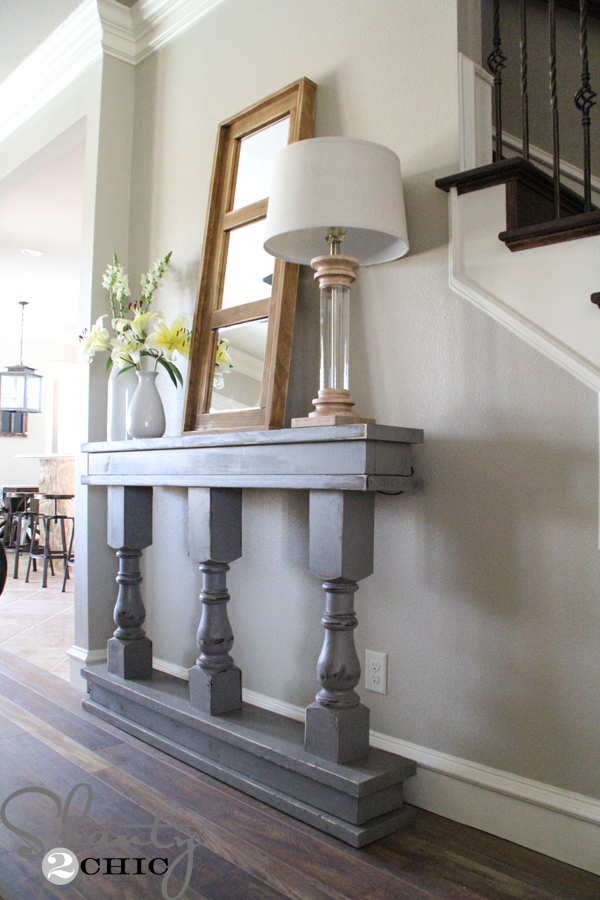 console-table-diy