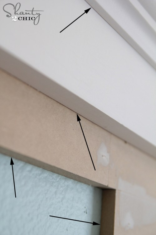 Caulking Trim DIY