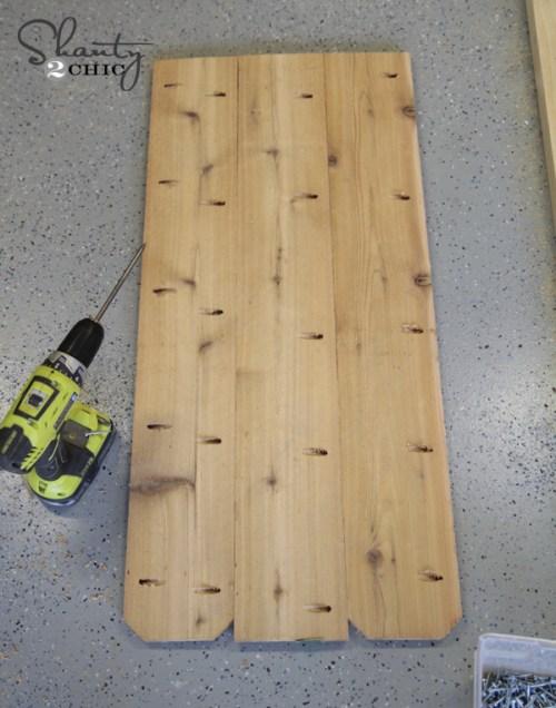 Kreg Jig Pocket holes for planter box