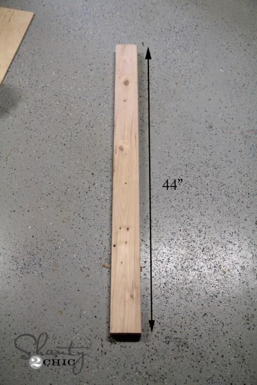 Wood for corbel desk