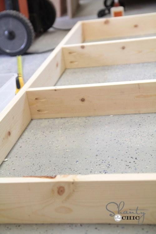 bed frame DIY