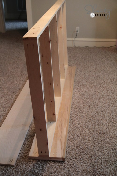 side rail of bed
