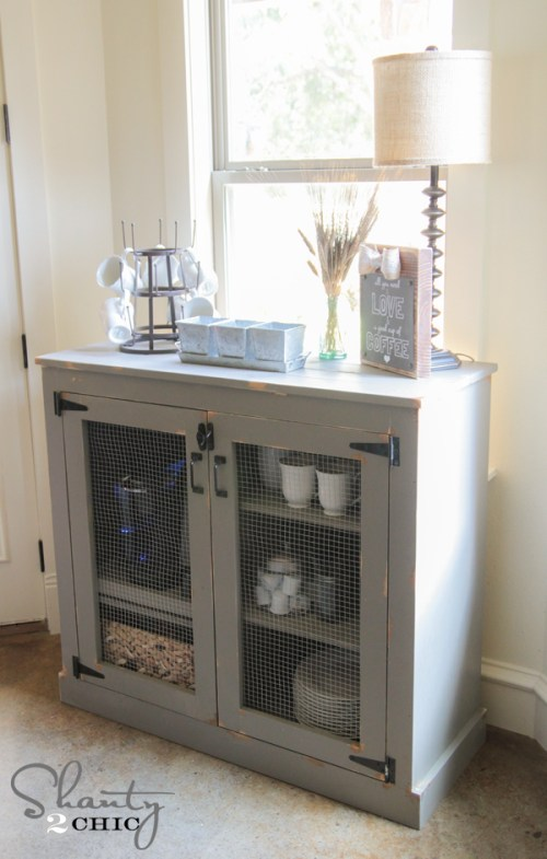 Coffee Cabinet DIY