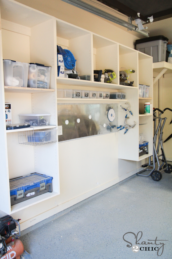 Hey guys! I am SO excited to share my new DIY Garage Organization ...