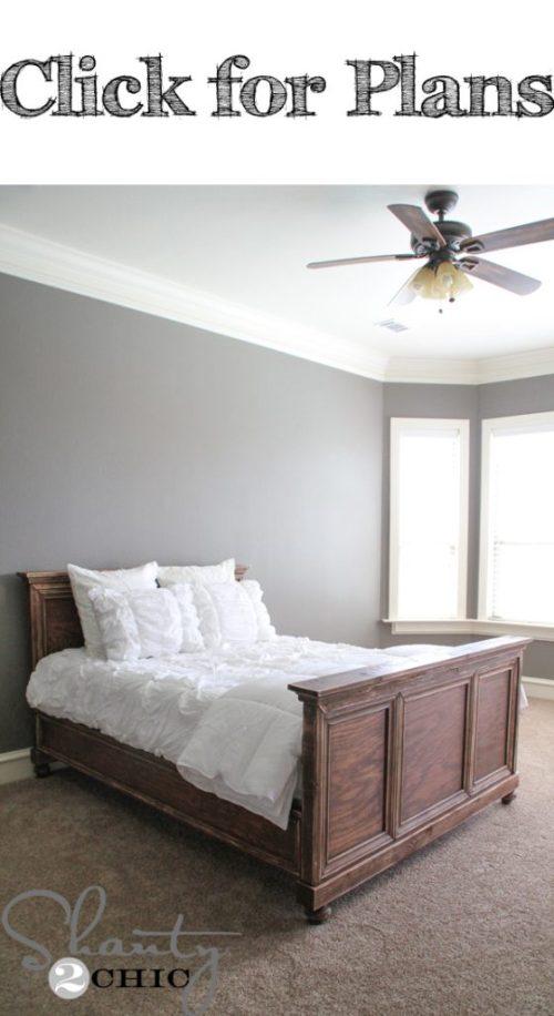DIY-Woodworking-Bed
