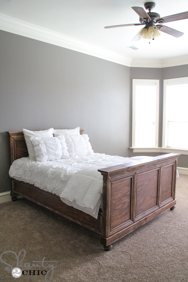 Diy Woodworking Queen Bed Shanty 2 Chic