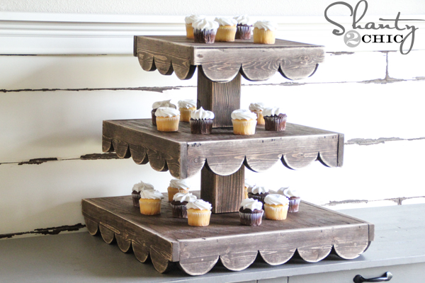 Diy Cupcake Stand And A Giveaway Shanty 2 Chic
